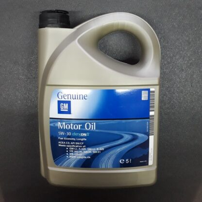 Масло моторное Genuine GM Motor Oil 5W-30 Dexos2 5 л .